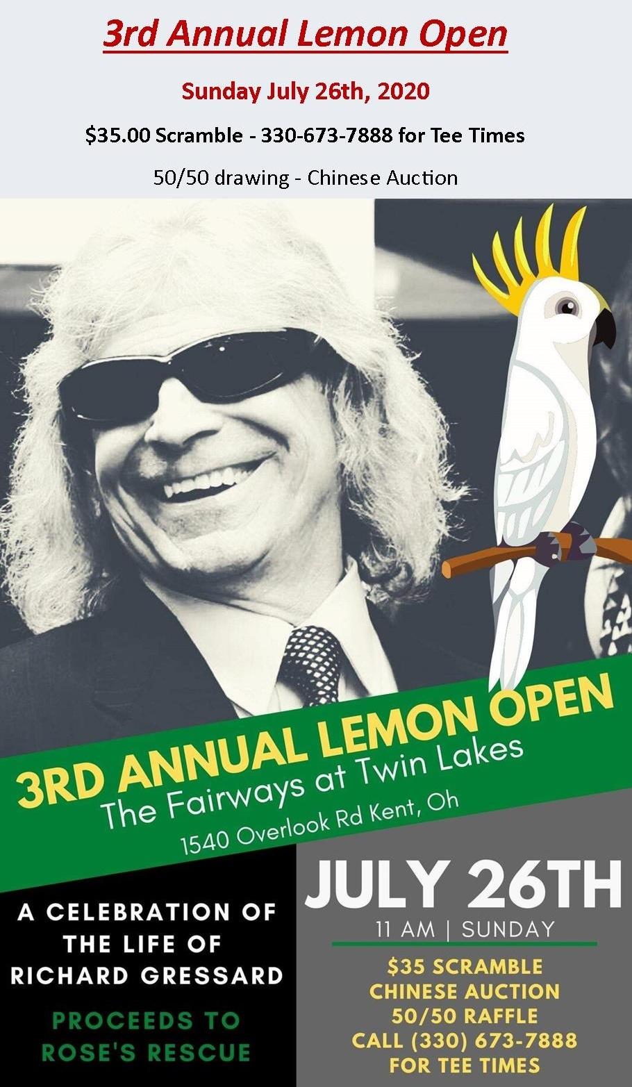 Lemon Open 2020