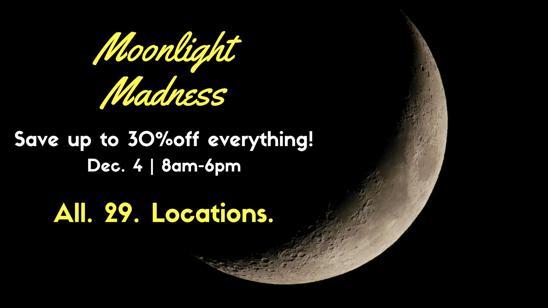 Moonlight Madness header