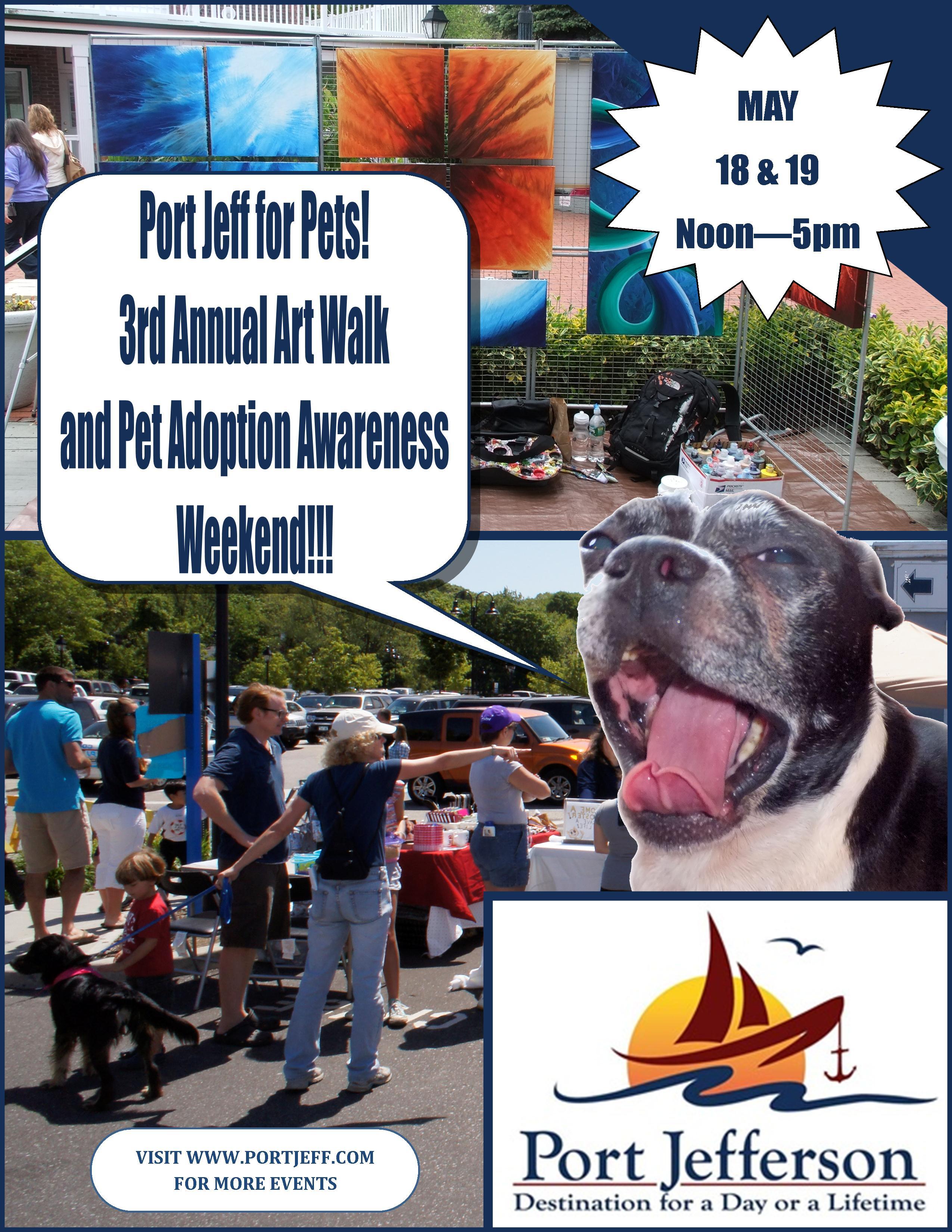 13.05.18 PJ 3rd Annual Art Walk & Adoption Wkd
