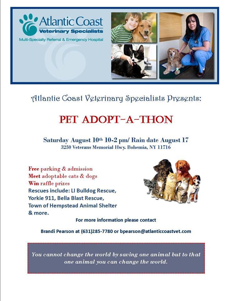 Atlantic Coast Pet Adopt a Thon
