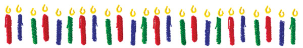 candle border