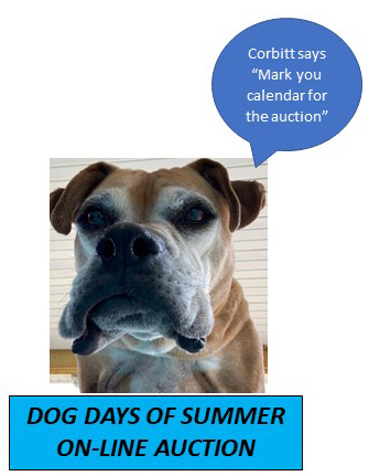 Dog Days of Summer Auction August 2021