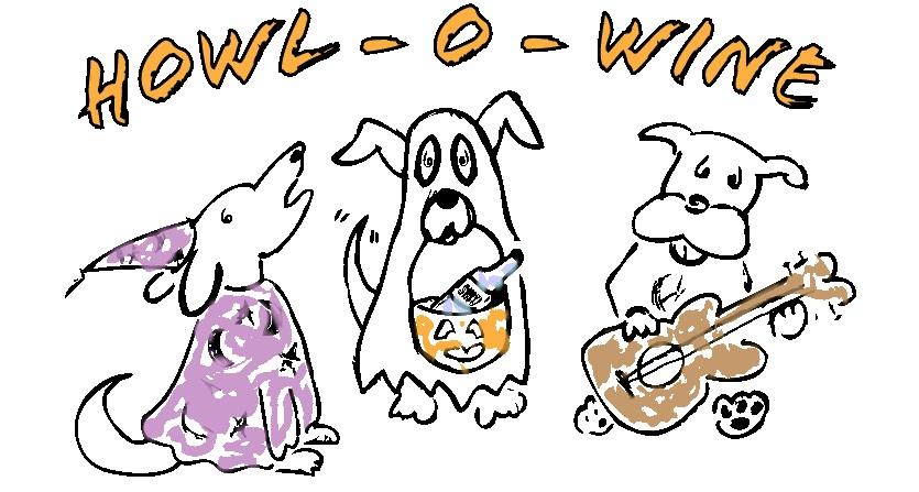 Howl-o-Wine logo