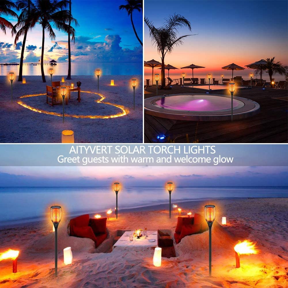 Solar Tiki Lights