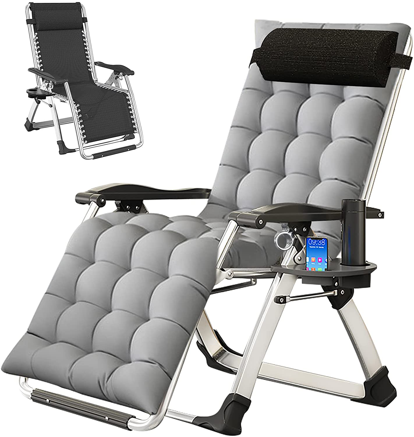 Cushioned Gravity Chair