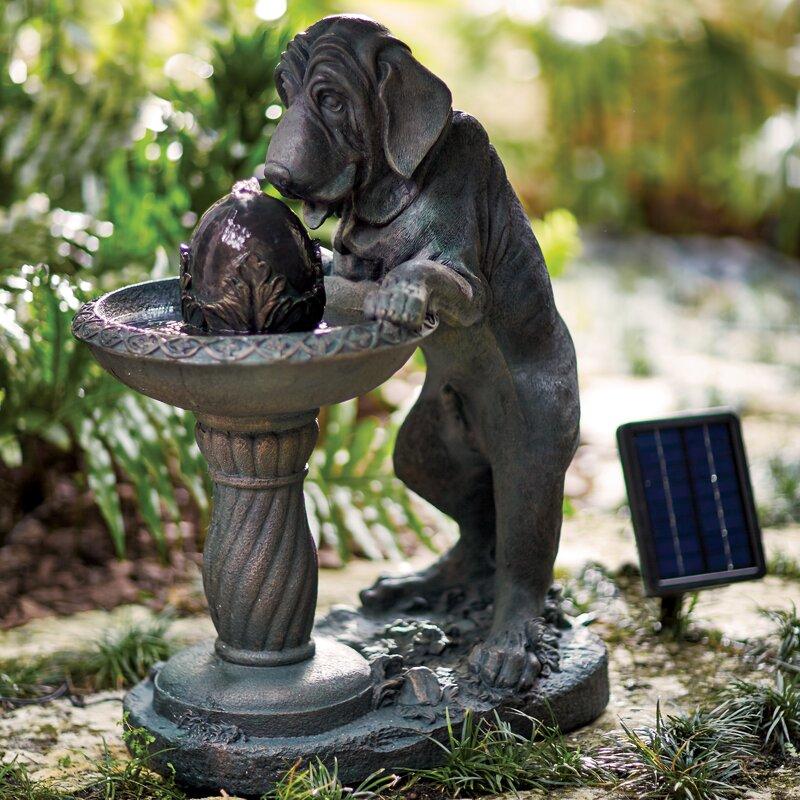 Solar Dog Fountain