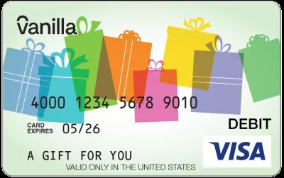 $400 Visa Gift Card