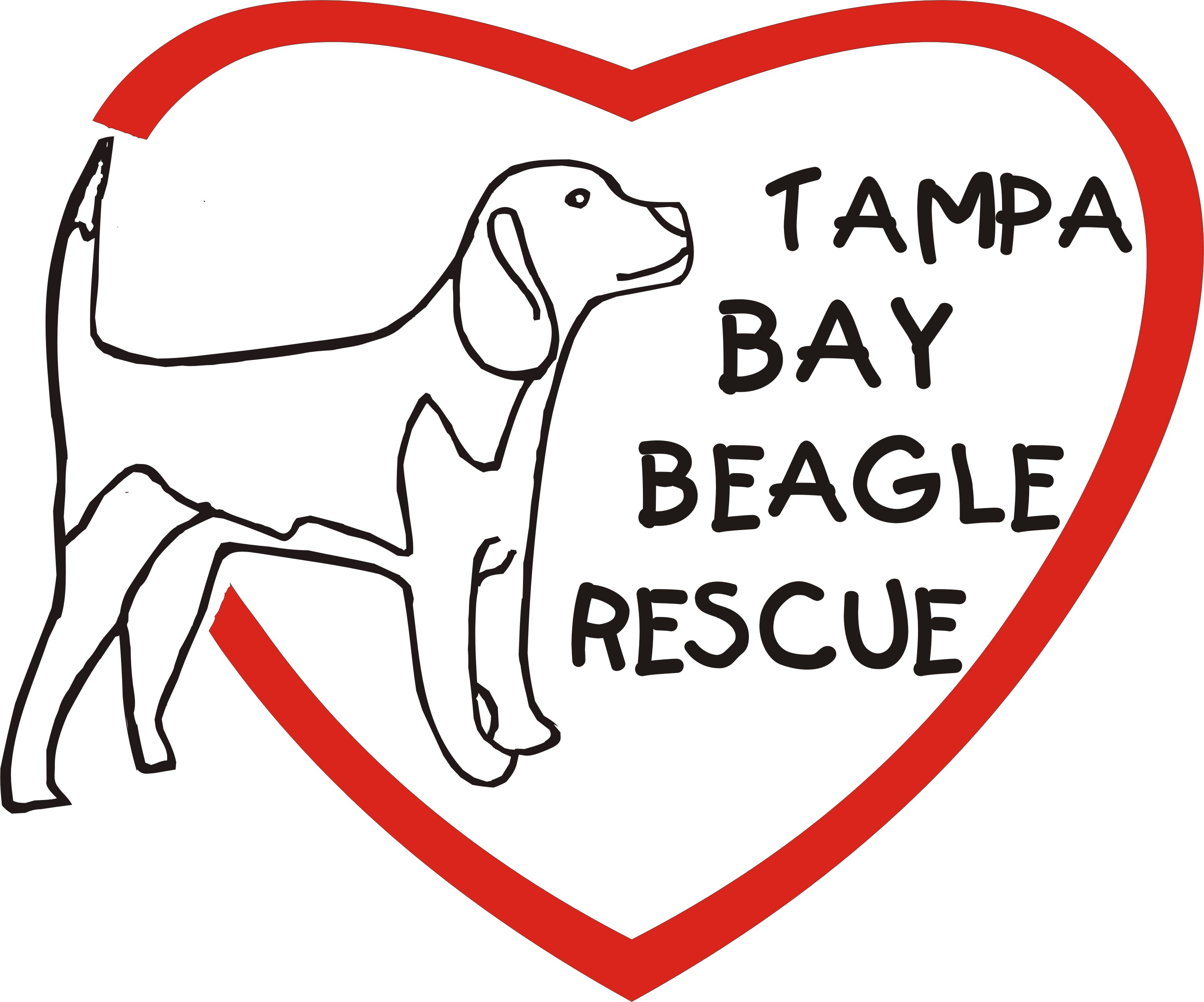 welcome to tampa bay beagle rescue