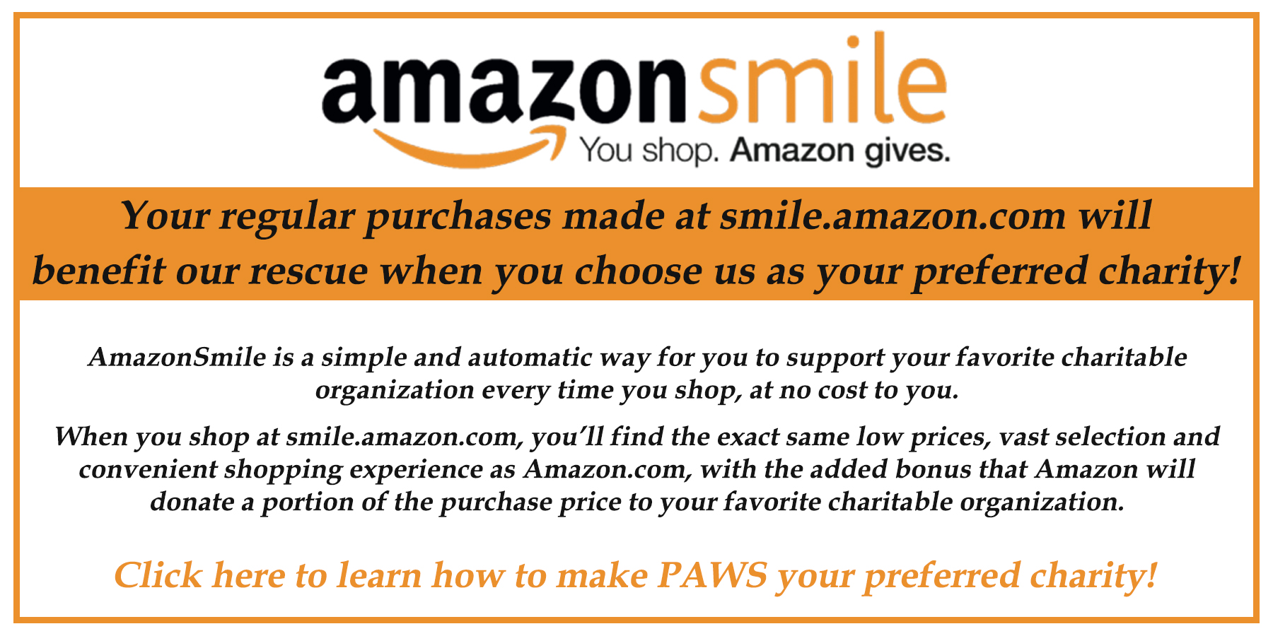 Welcome to PAWS Wakefield, an animal welfare organization
