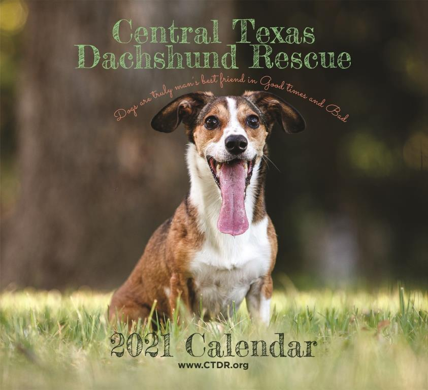 2021 CTDR Calendar Cover