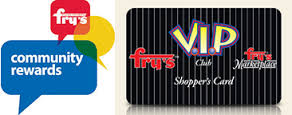 Read how you can help by using Fry's Community Rewards