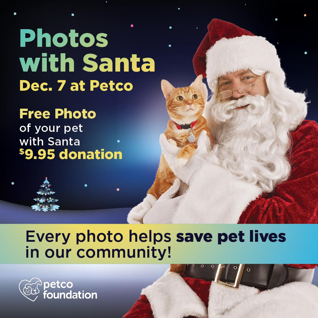 2019 Photos with Santa at Petco