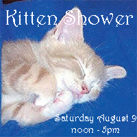 Kitten Shower Adoption Event