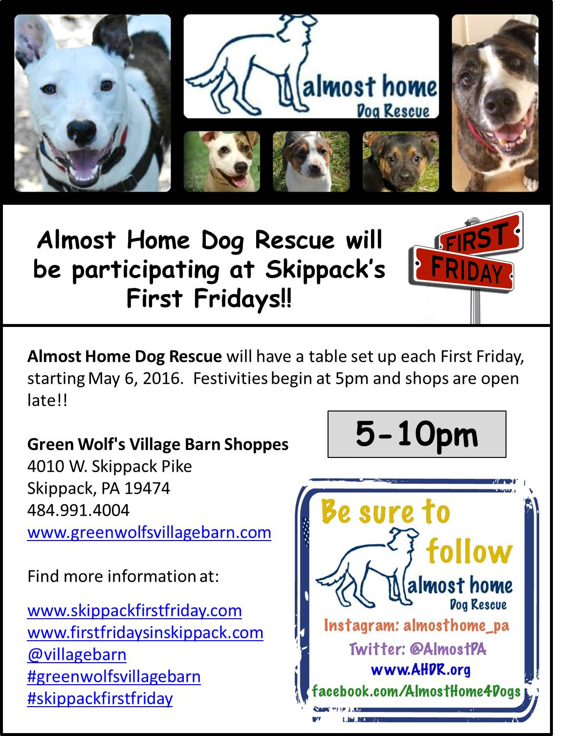 Almost home events note not all dogs will be at the meet greet please contact almosthome4dogsyahoo to see if the dog you would like to meet will be there m4hsunfo