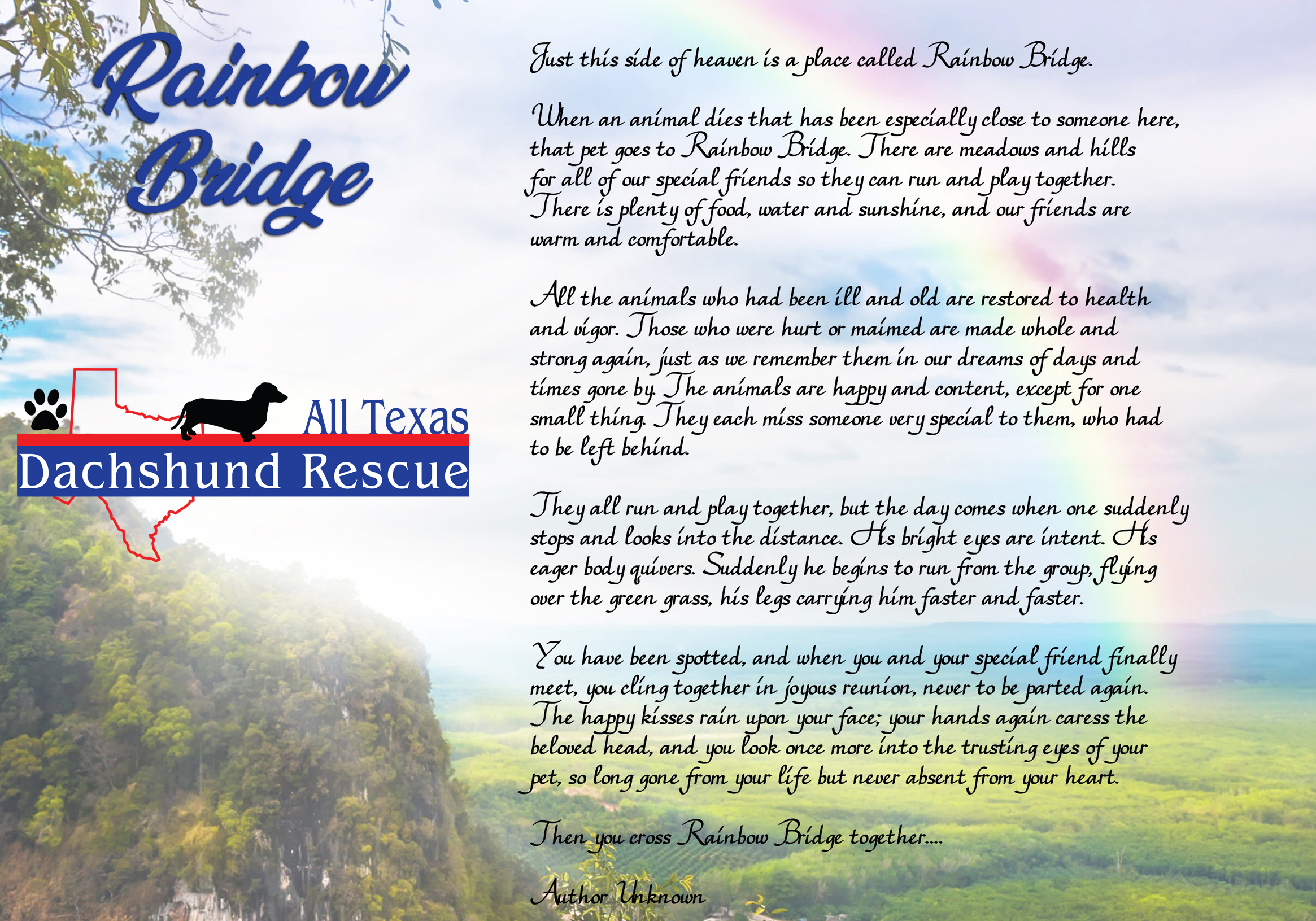 Rainbow Bridge ATDR