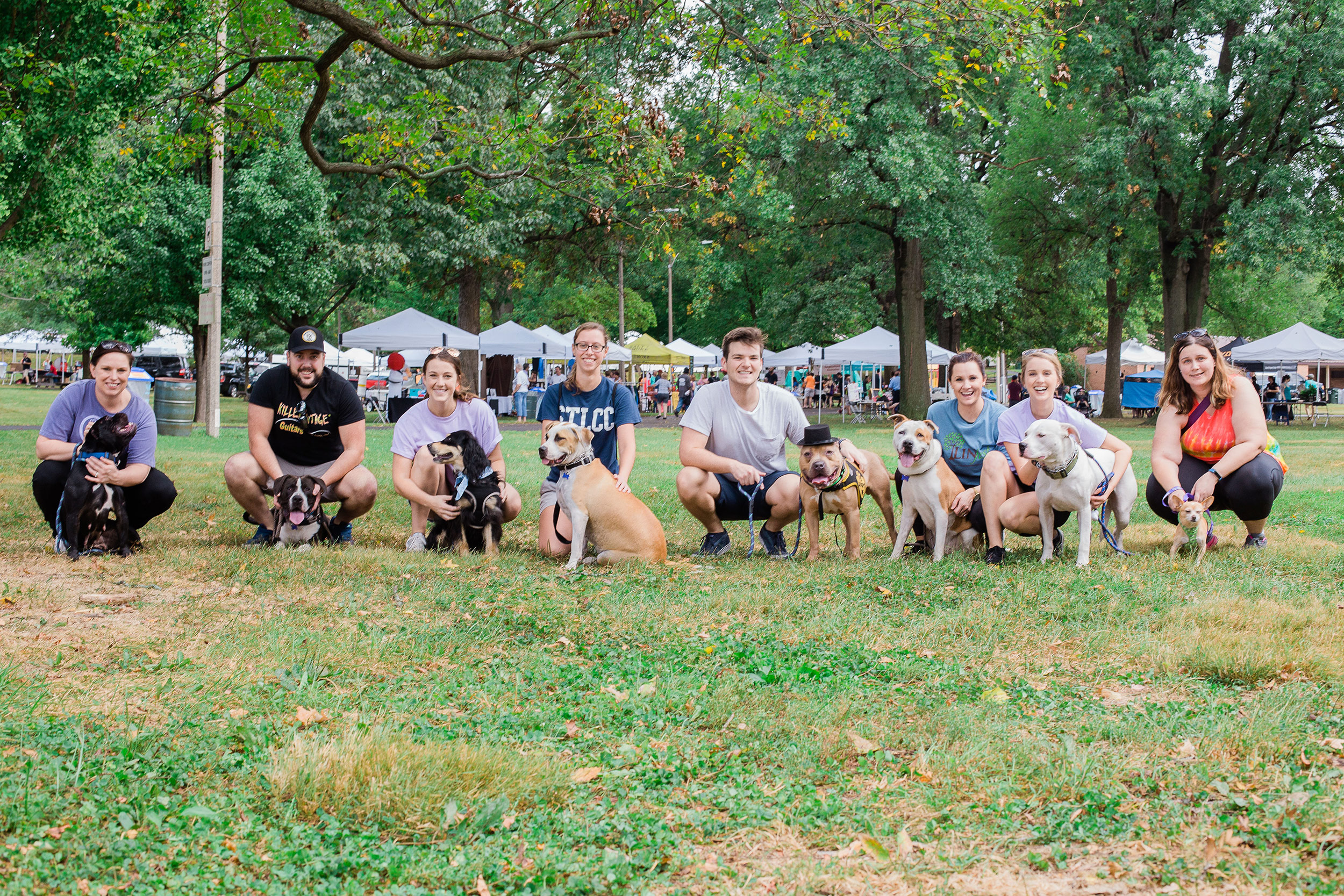 needy paws pup parade august 2018