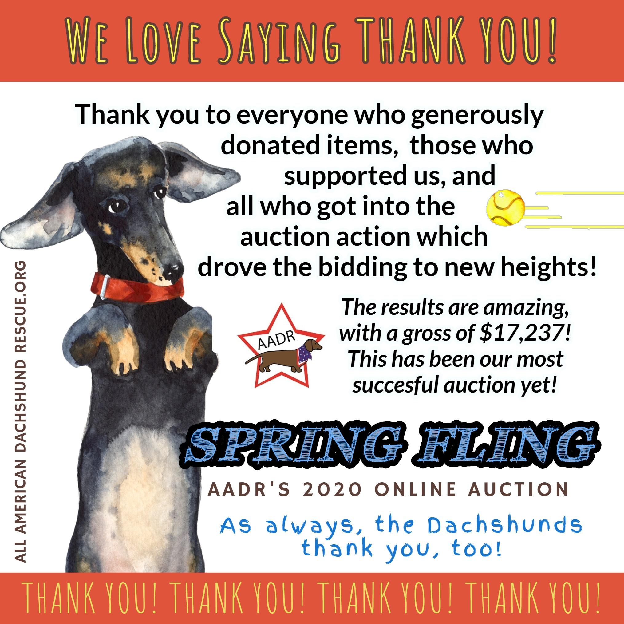 2020 Spring Auction_Thank You