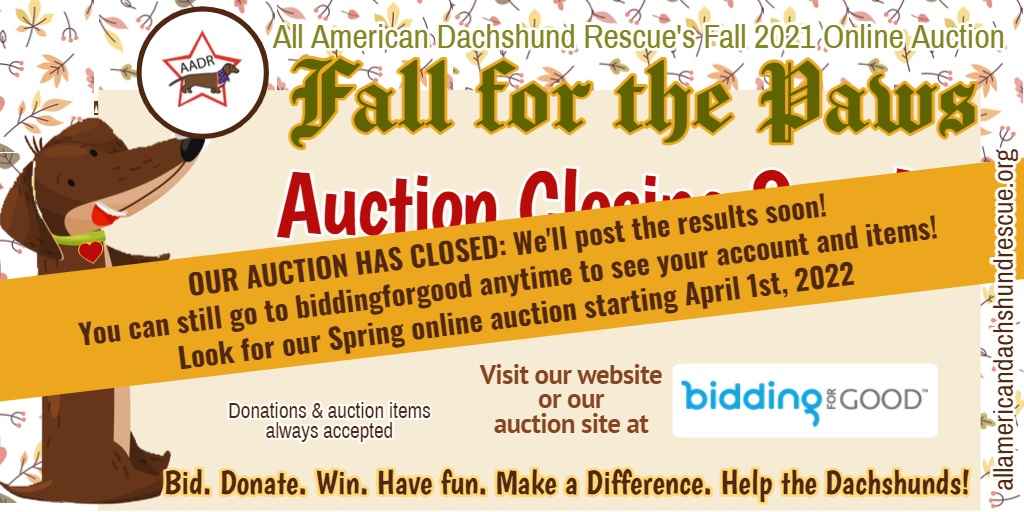 2021 Fall Auction_Closed