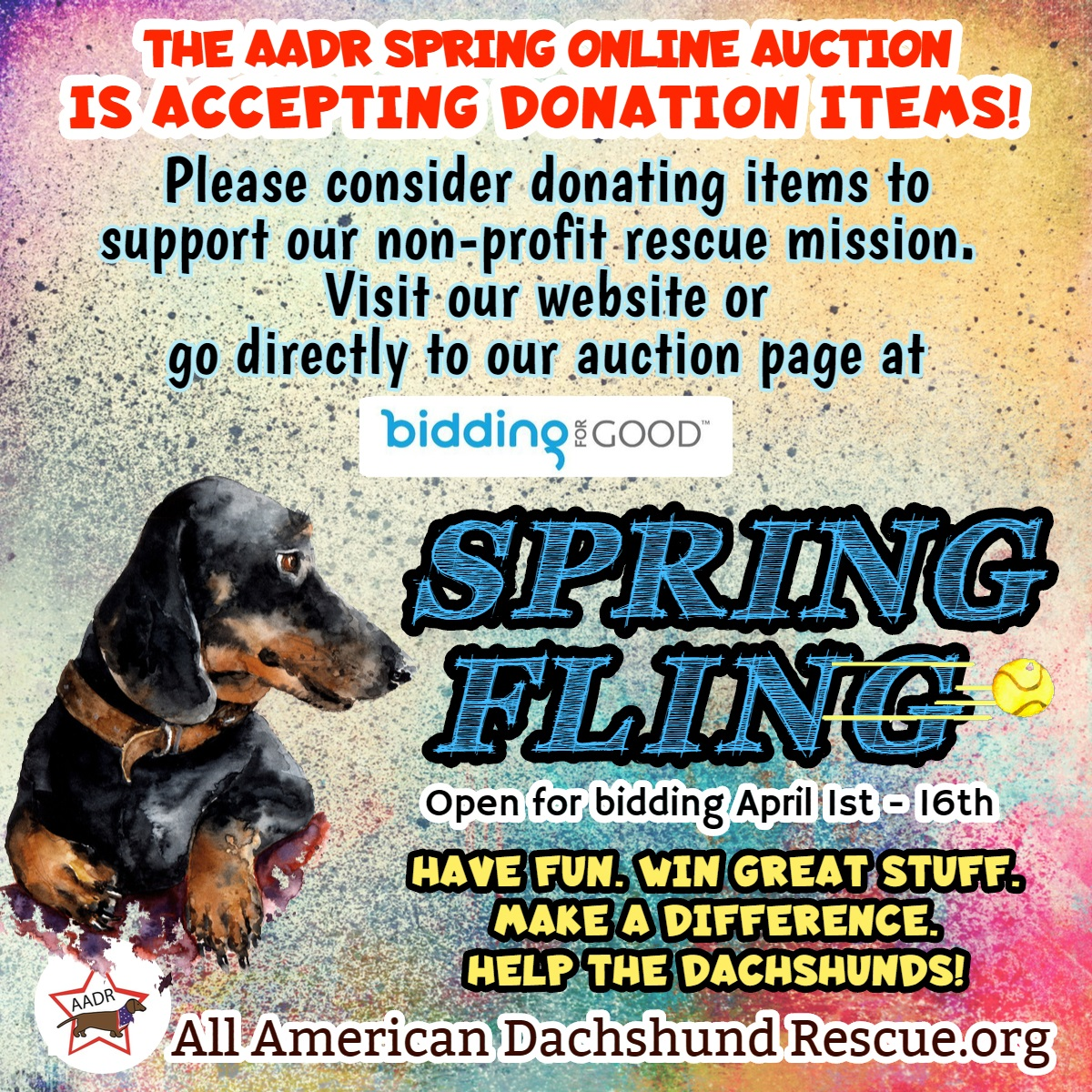 2020 Spring Auction Donations