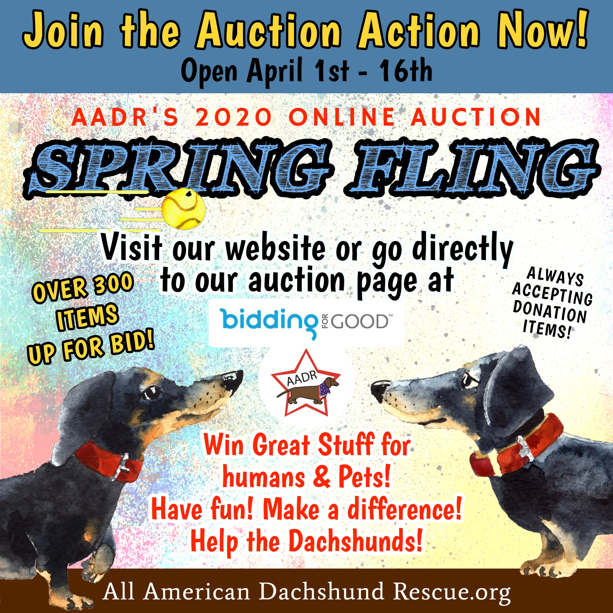 2020 Spring Auction_Going on Now