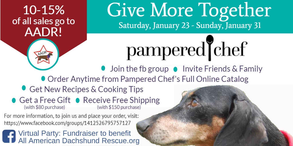 2021 Pampered Chef fb Fundraiser