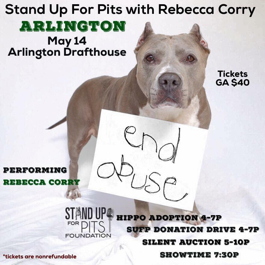 Bully Paws - Stand Up For Pits with Rebecca Corry @ Arlington Drafthouse | Arlington | Virginia | United States