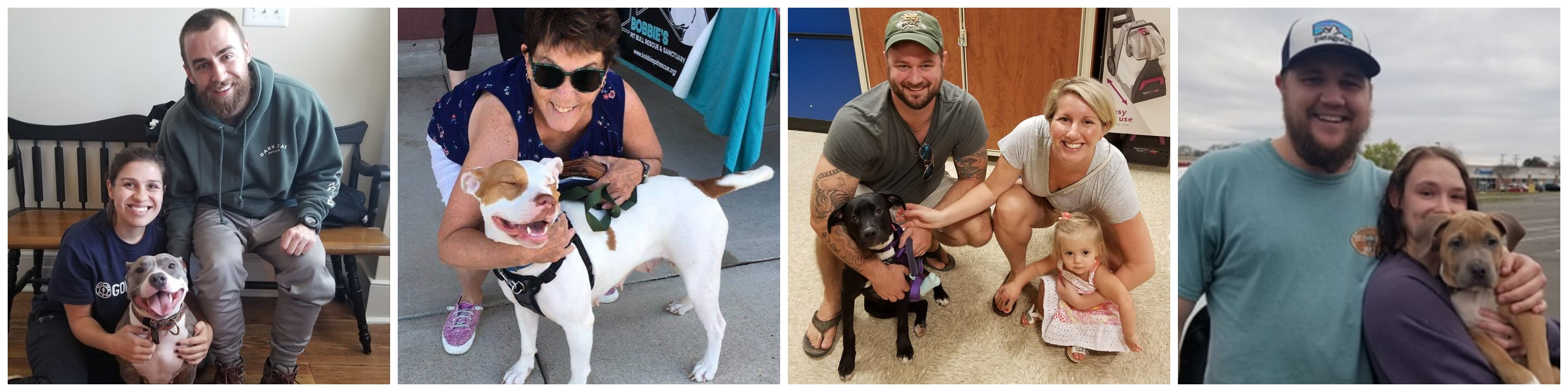 Adopters with Dogs