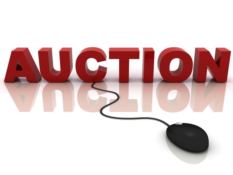 Online Auction graphic