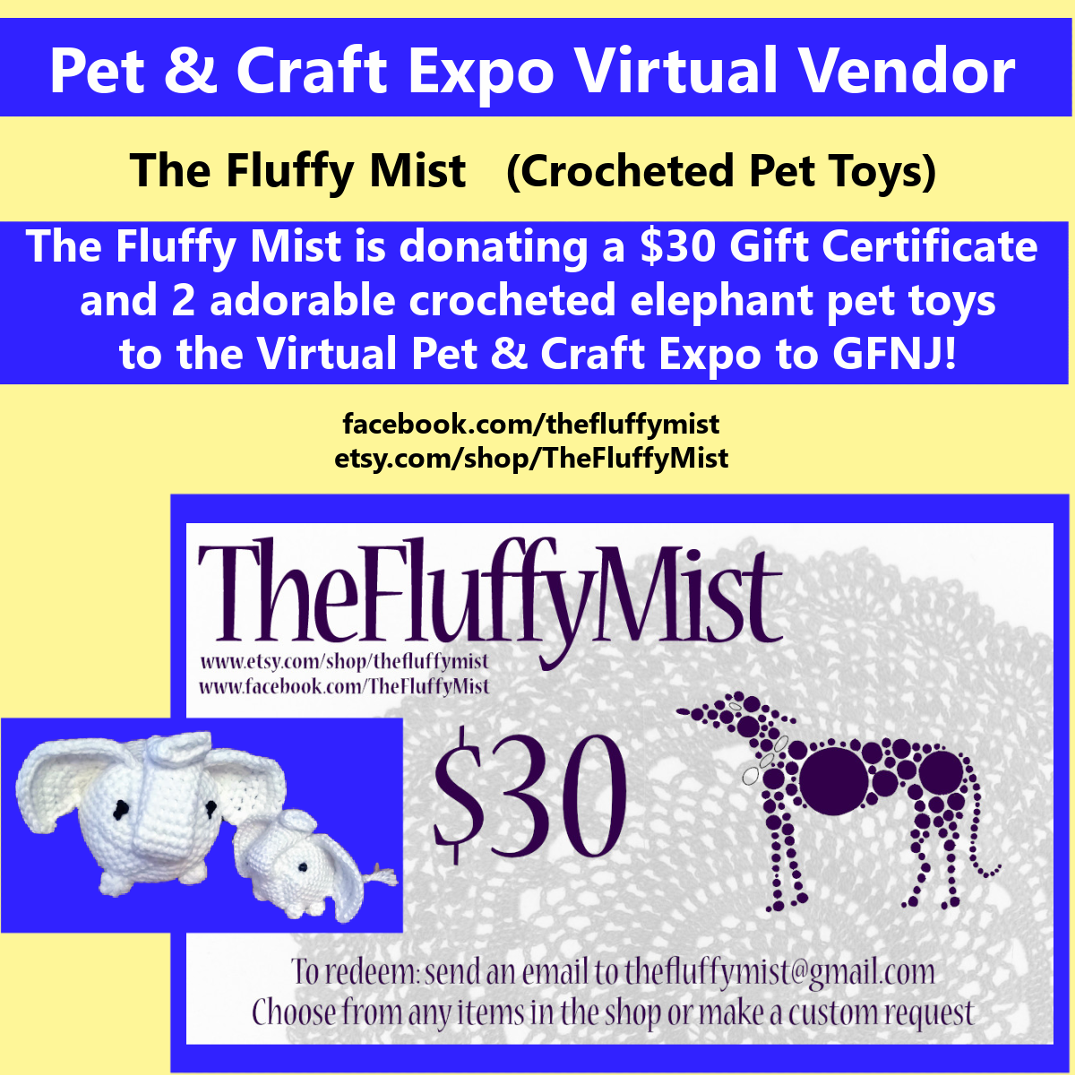 2020 Craft Show Fluffy Mist