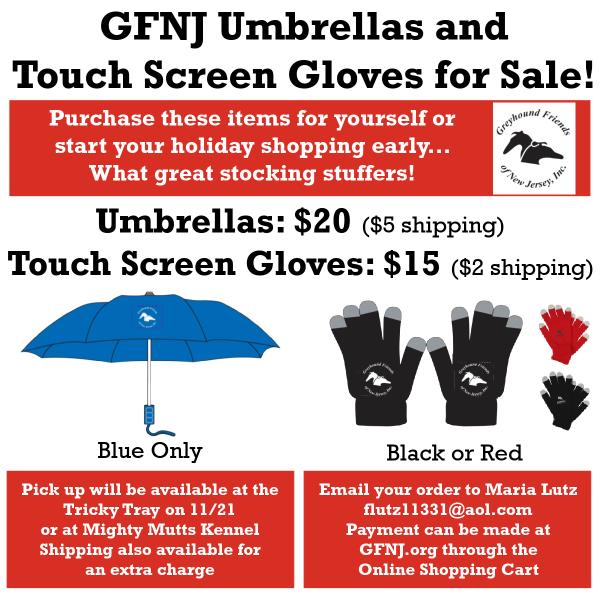 GFNJ Umbrellas Gloves