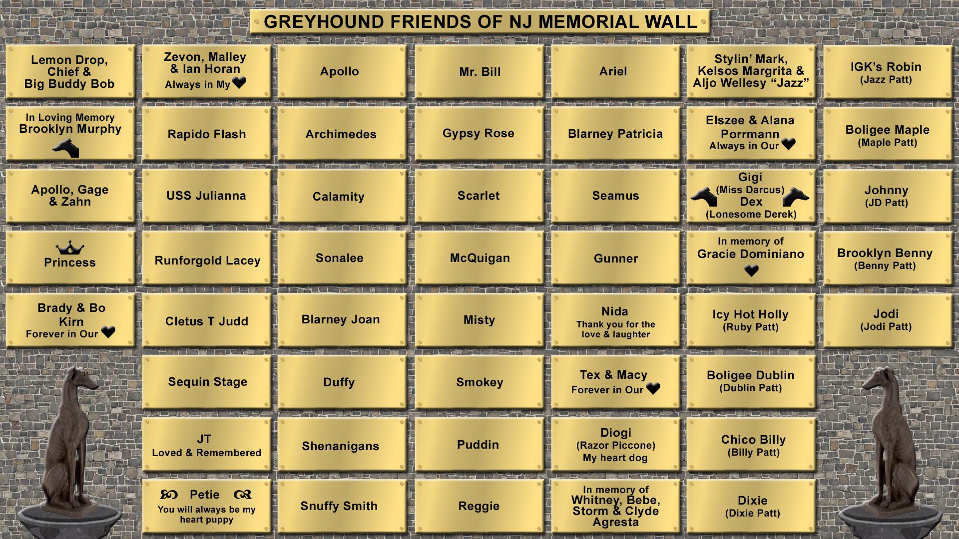 Memorial Wall 1