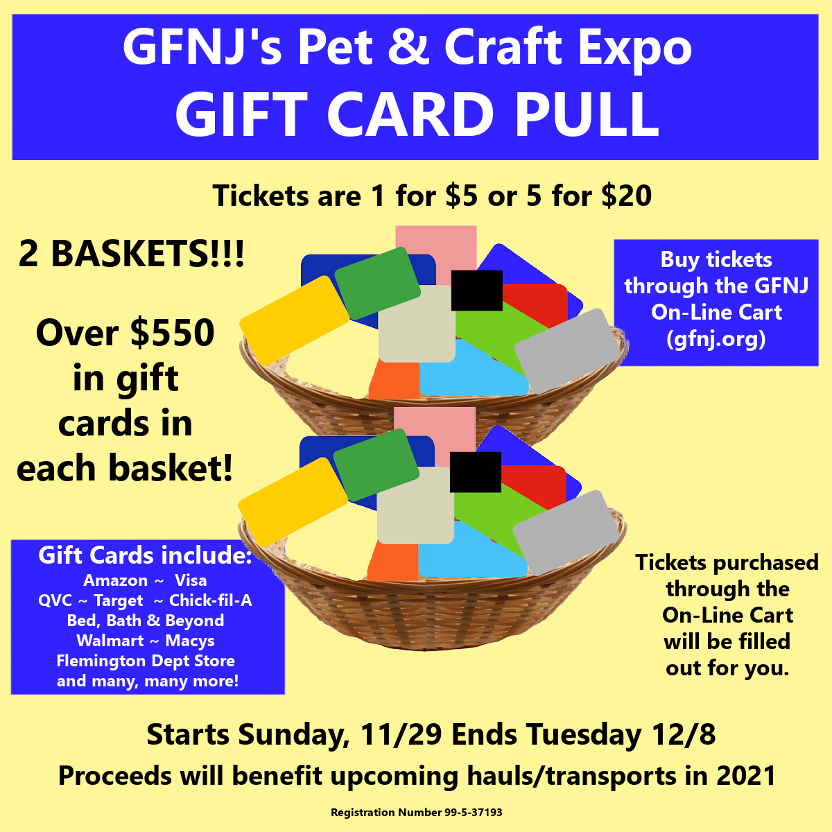2020 Craft Gift Card Pull
