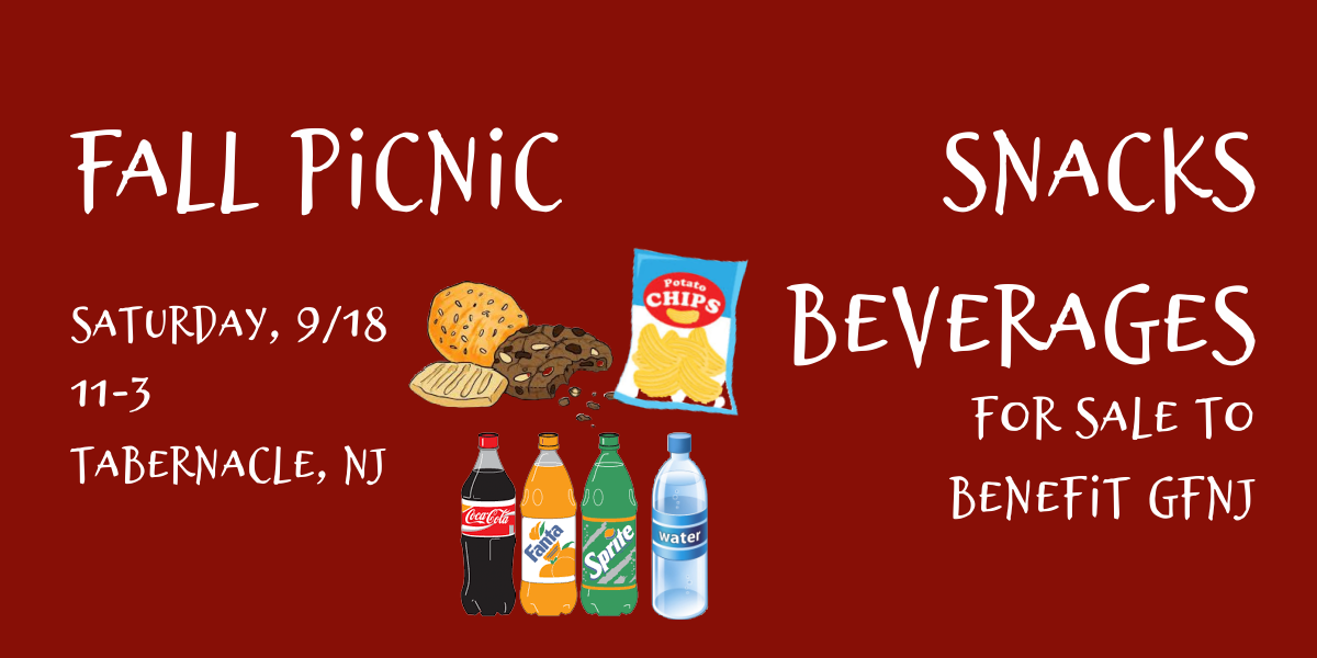 2021 Fall Picnic Snacks