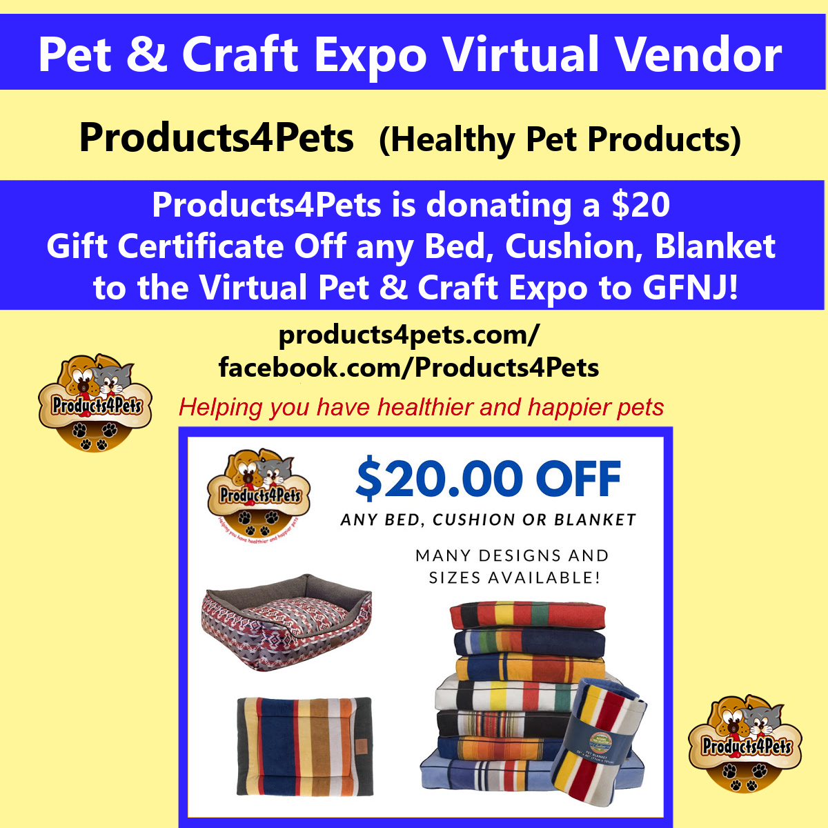 2020 Craft Products4Pets