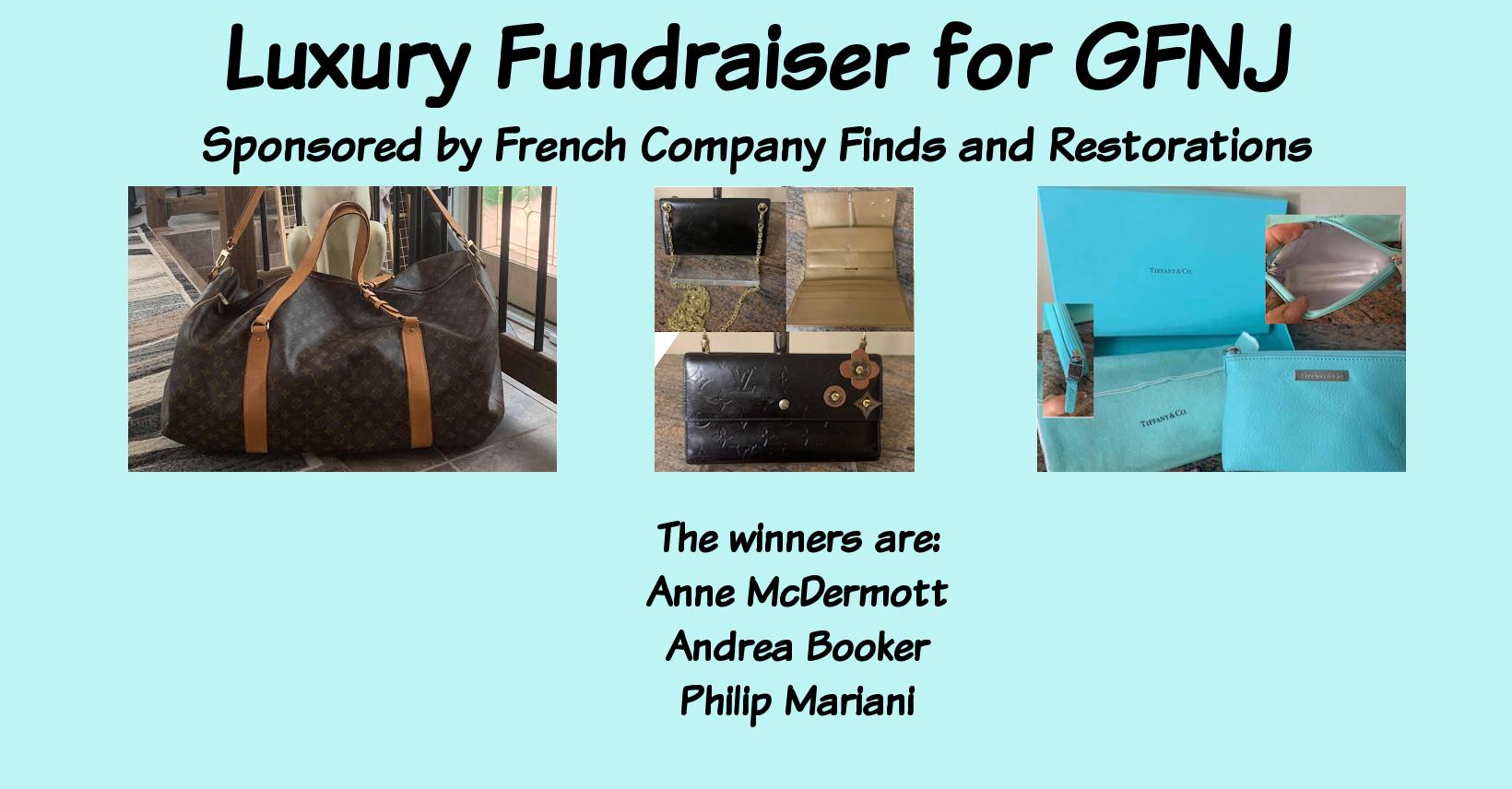 Luxury Fundraiser Winners
