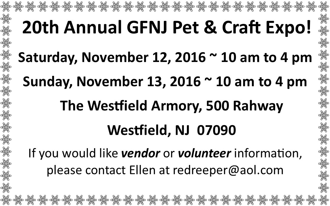2016 Fall Newsletter Craft Show Small