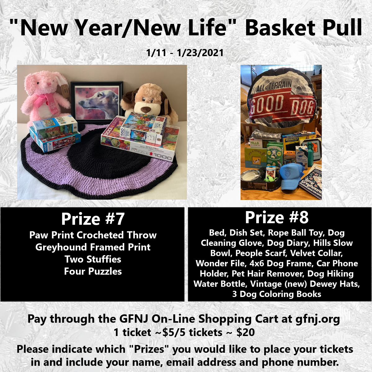 New Year/New Life Baskets 7/8