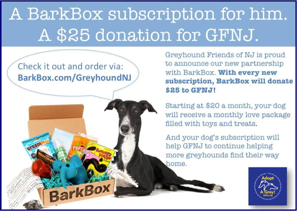 2016 Fall Newsletter Bark Box