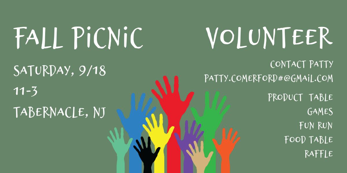 2021 Fall Picnic Volunteer