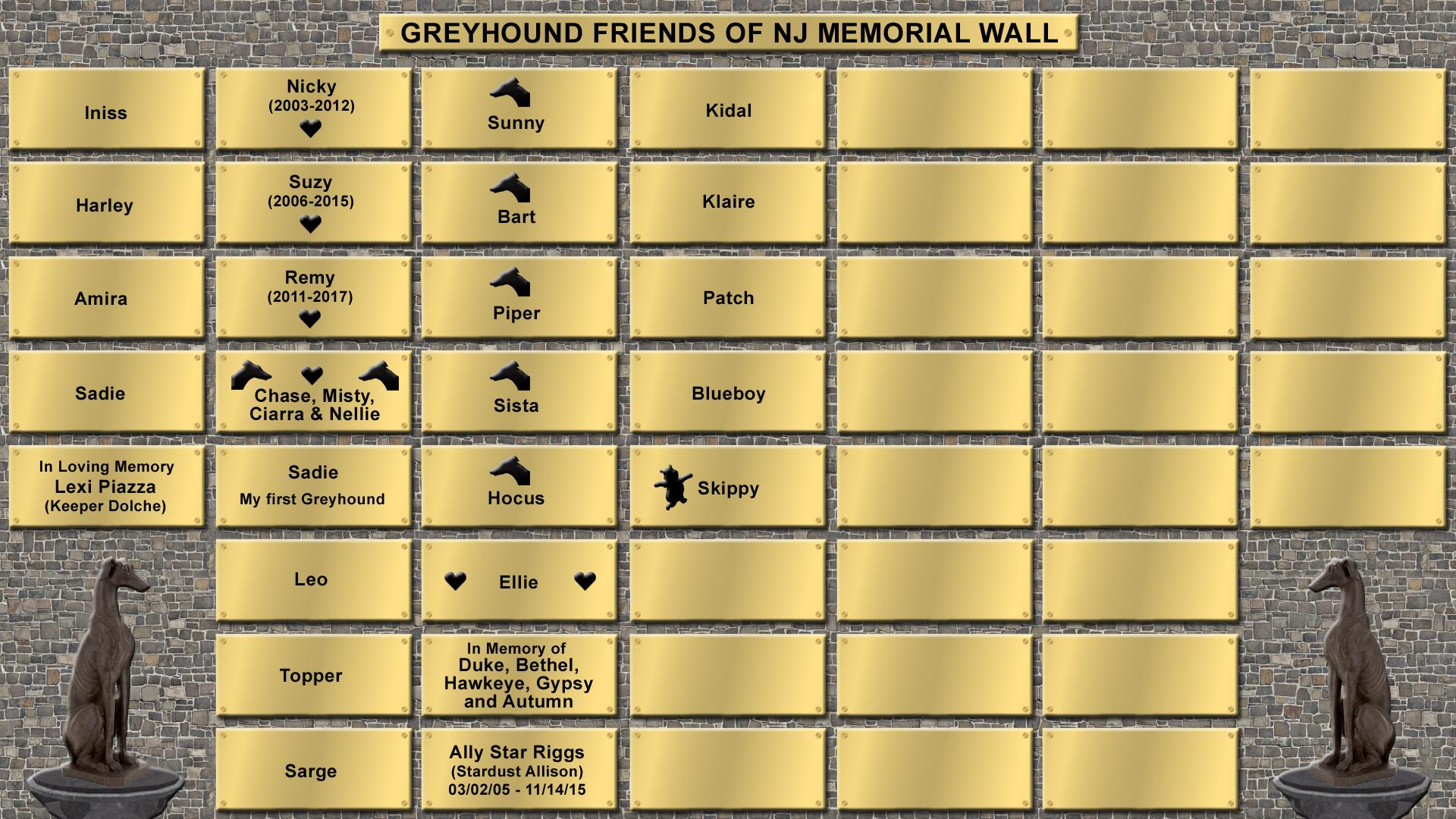 Memorial Wall 062420