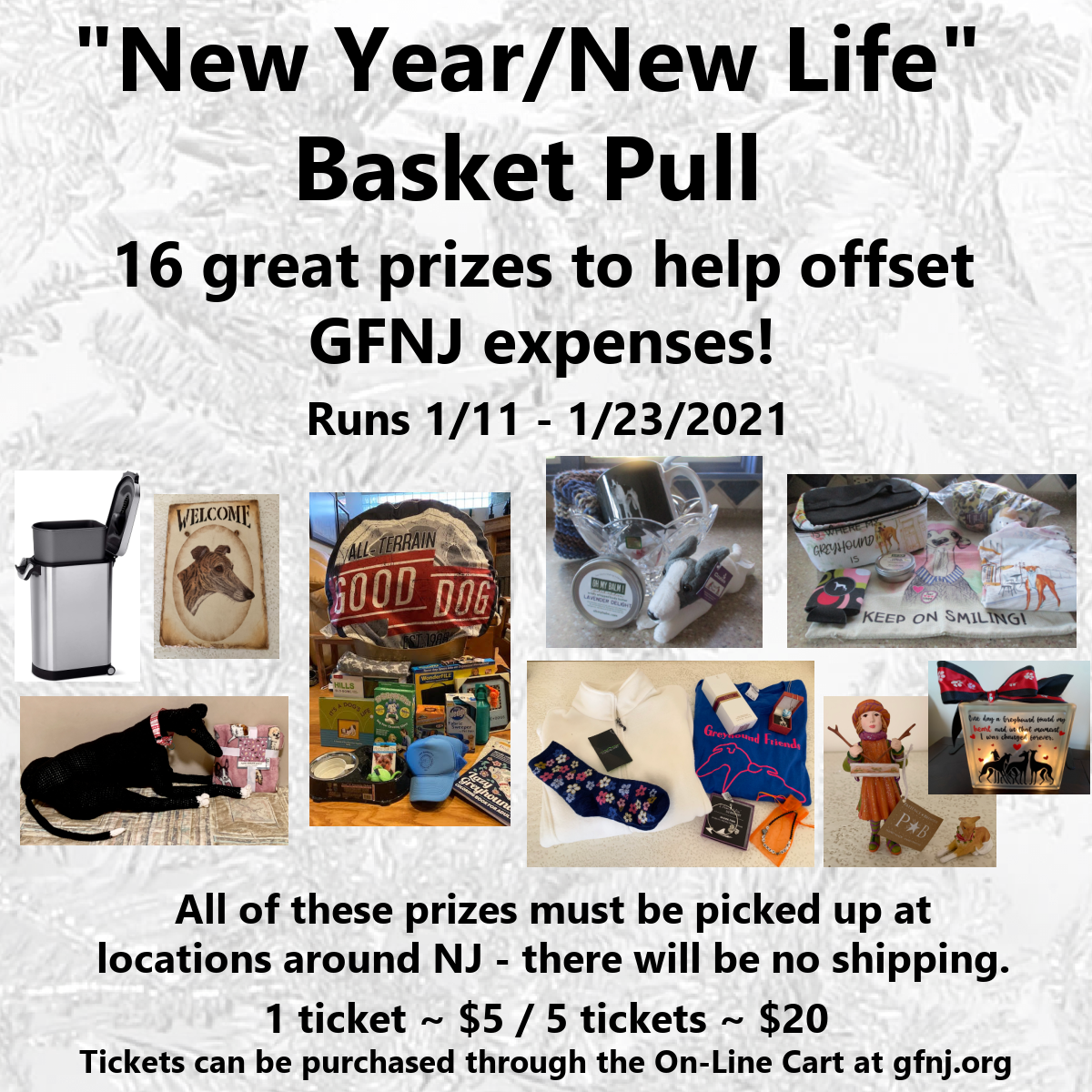 New Year Basket Pull