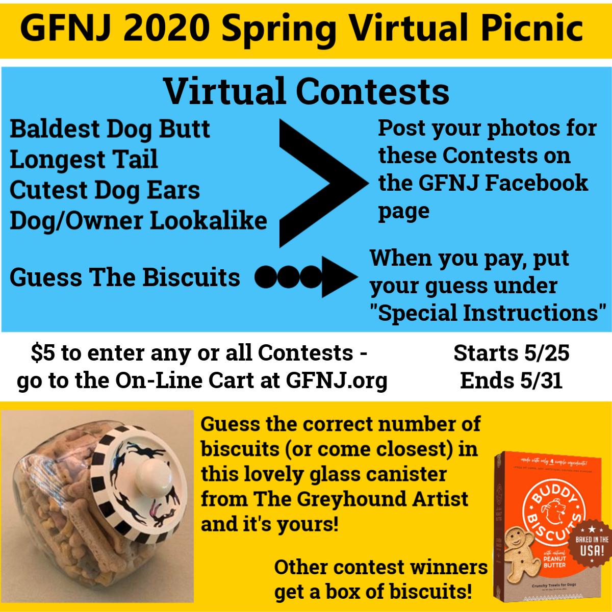 2020 Virtual Picnic Contests