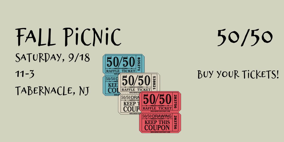 2021 Fall Picnic 50/50