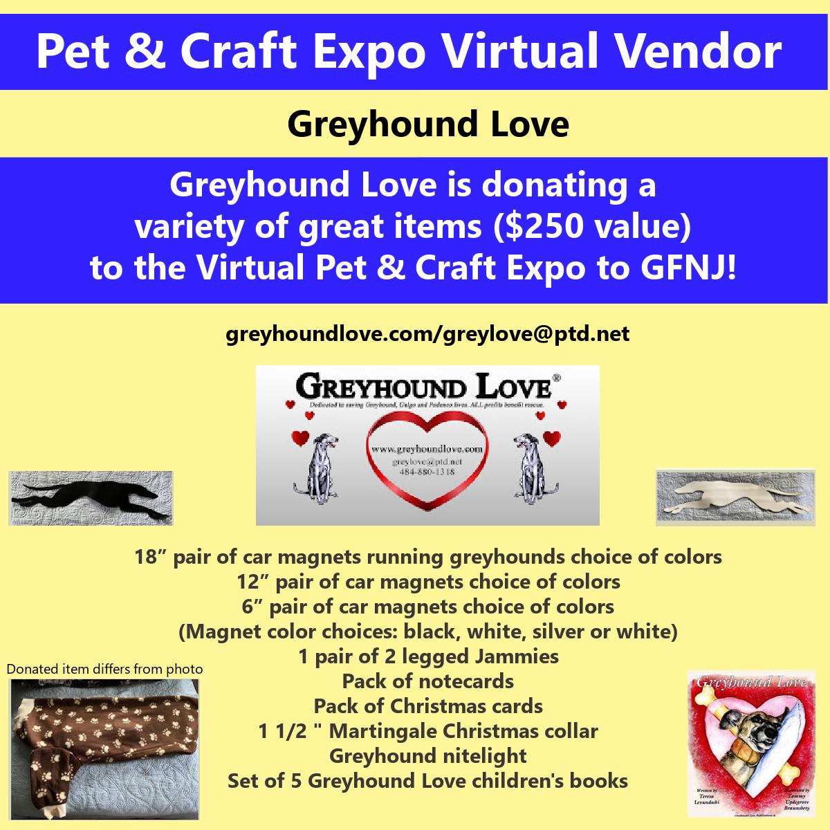 2020 Craft Show Greyhound Love 1