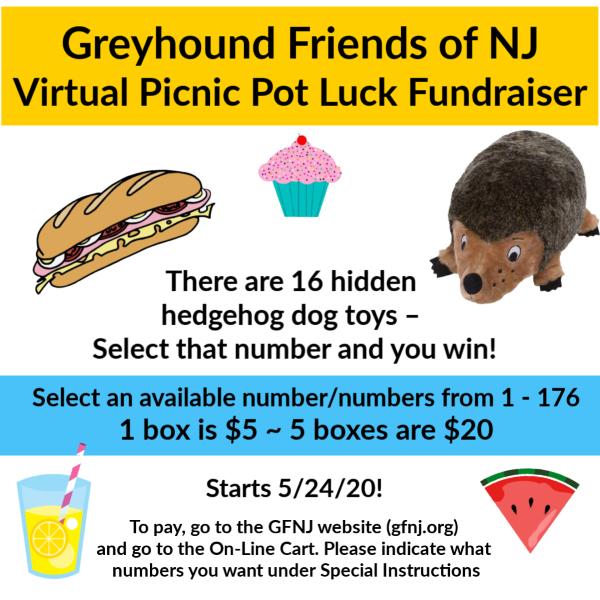 2020 Virtual Picnic Pot Luck Game