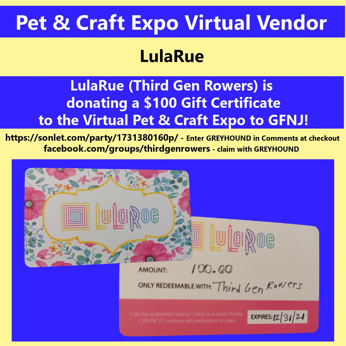 2020 Craft LulaRue