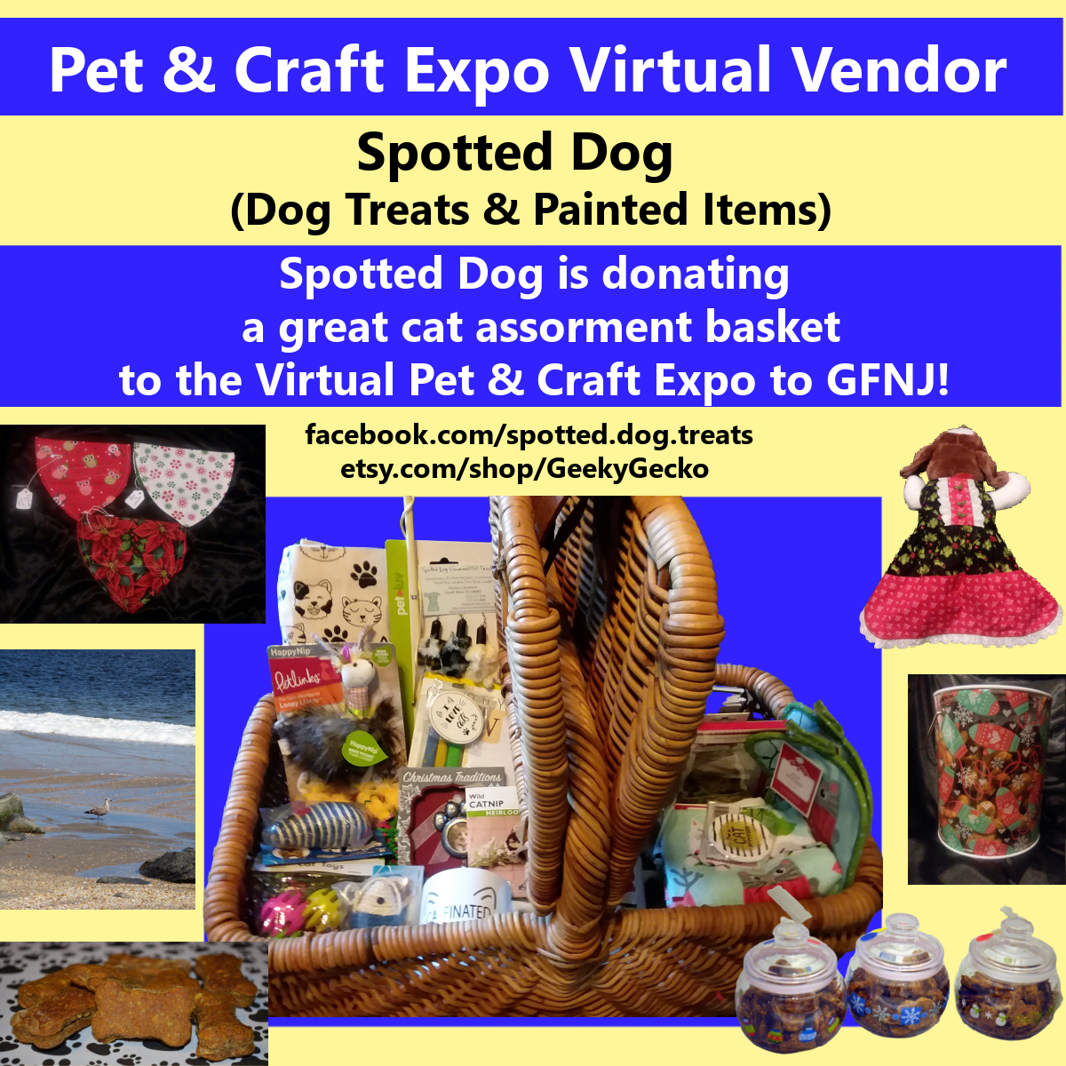 2020 Craft Show Spotted Dog