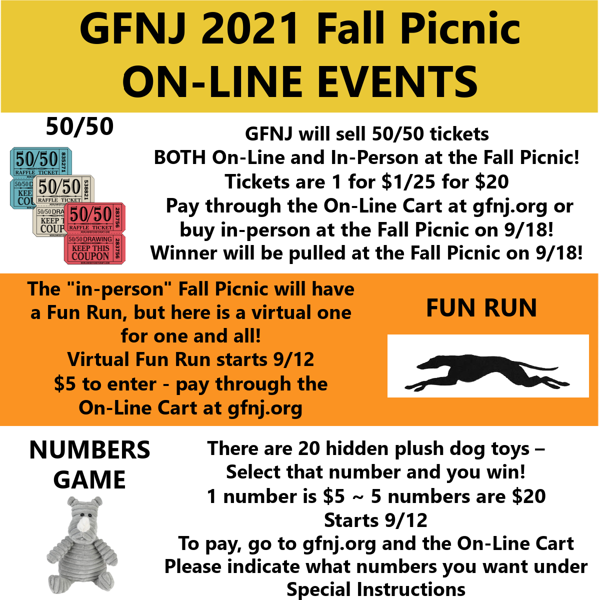 2021 Fall Picnic Virt In Person