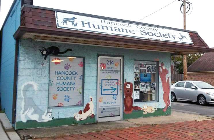 Hancock County Humane Society shelter exterior
