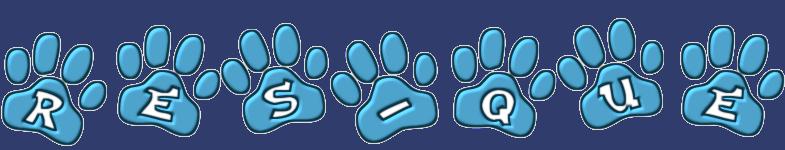 Res-Que Logo (Paw Prints)